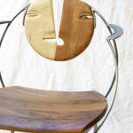 chaise aux 2 visages