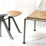 tabouret drosophile  et table amourette